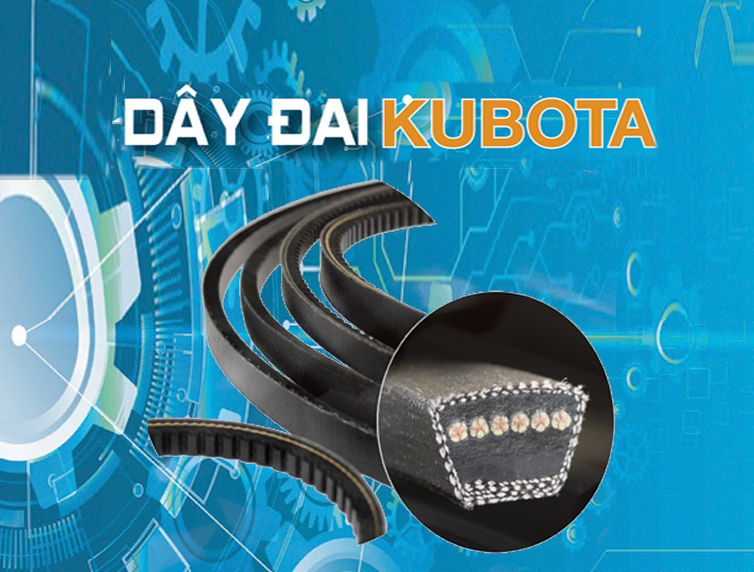 dây đai máy gặt Kubota